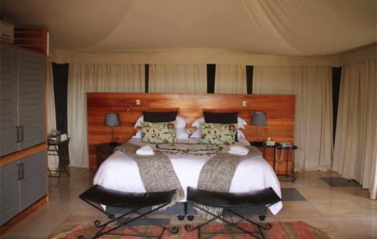 Afrika - SOUTH AFRICA - KRUEGER NATIONAL PARK - Timbavati Private Nature Reserve - Simbavati Hilltop Lodge - Luxury tent in Simbavati Africa