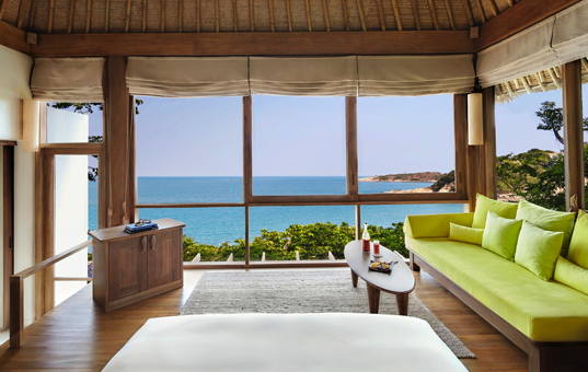 Asien - THAILAND - Koh Samui, Bophut - Six Senses Samui - View from Ocean Front Pool villa