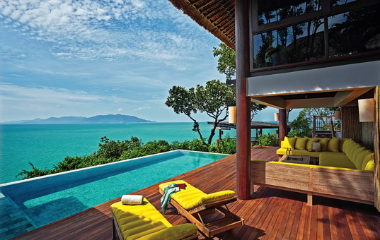 Asien - THAILAND - Koh Samui, Bophut - Six Senses Samui - Beachfront luxury pool villa with sea view