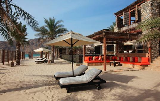 Arabische Halbinsel - OMAN - Musandam Peninsula - Six Senses Zighy Bay -