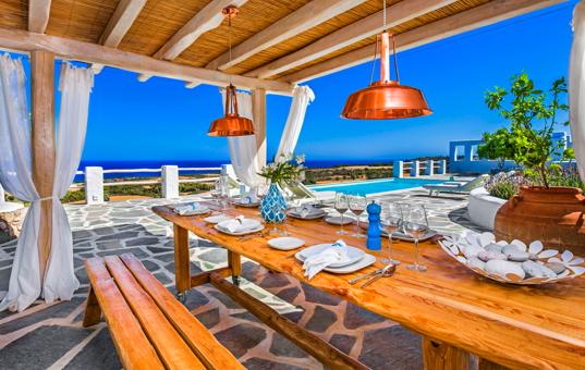 Griechenland - DODECANESE - RHODES - Lachania - Villa Elafina -
