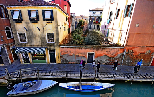 Italien - VENETO - Venedig - Apartment Ca Sole - Venice apartment with canal view in Dorsoduro district