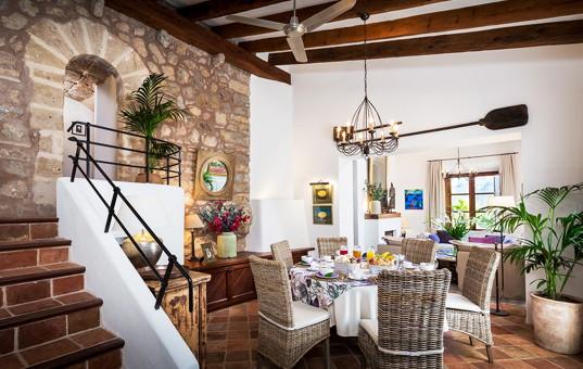 Spanien - BALEARIC ISLANDS - MAJORCA - Banyalbufar - Son Balagueret - Interior rental villa Mallorca