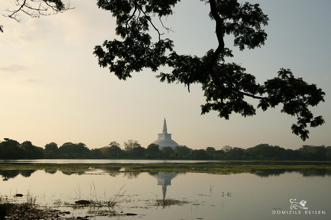 Anuradapuraya Ruwanveliseya view from Basawakkulama
