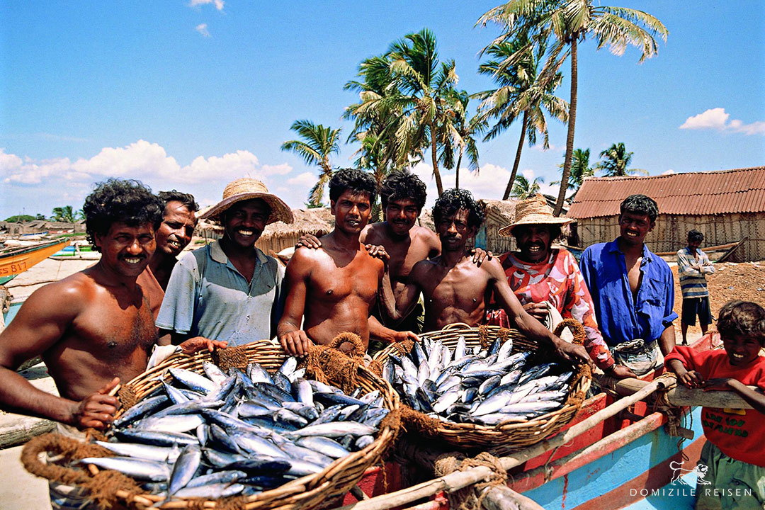 fishermen in Negombo