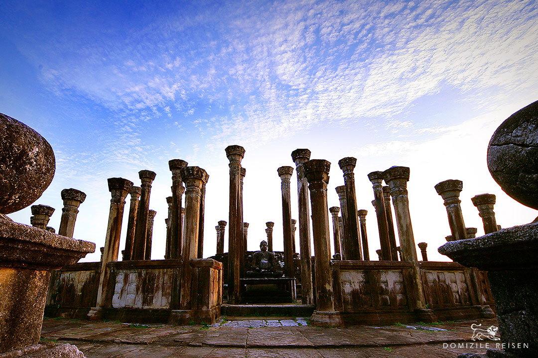 Ruins In Medirigiriya Sri Lanka