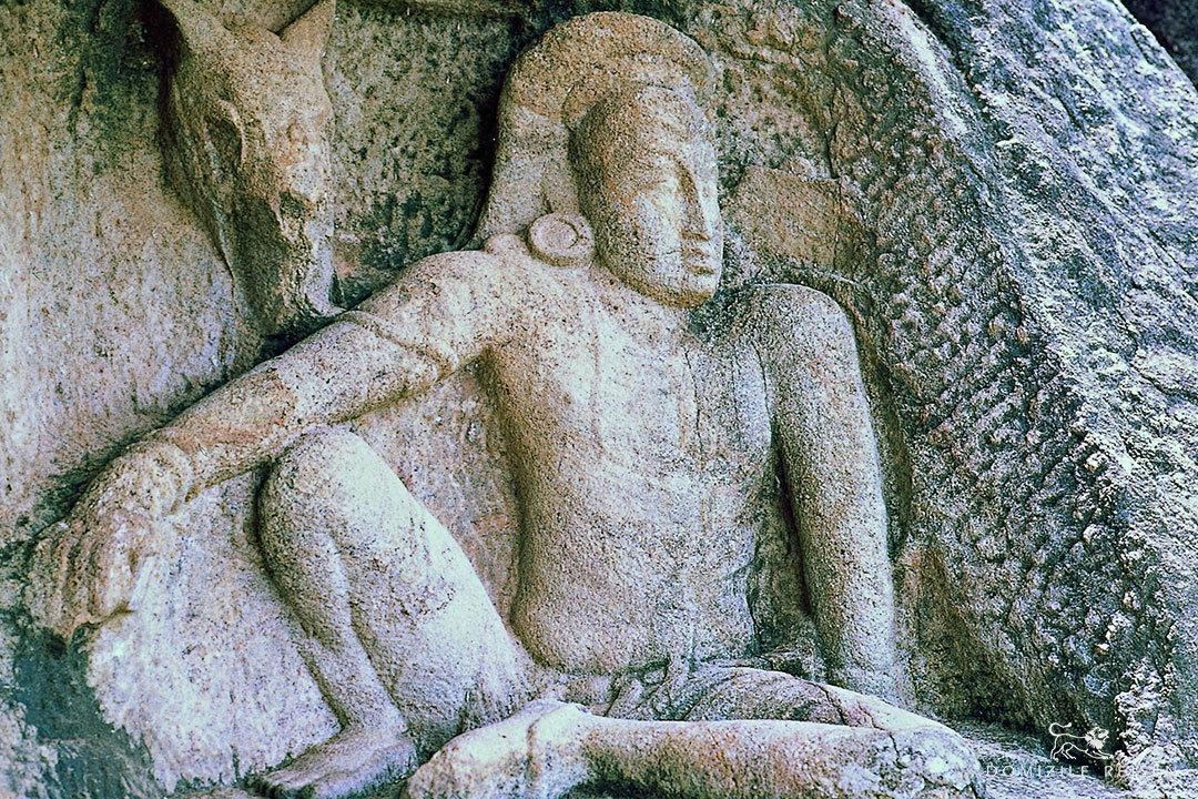 Anuradhapura Isurumuniya Man and Horse