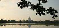 Anuradapuraya Ruwanveliseya view from Basawakkulama thumb