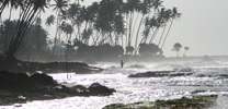 beach view in Galle Sri Lanka thumb