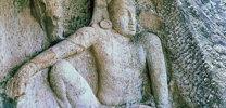 Anuradhapura Isurumuniya Man and Horse thumb