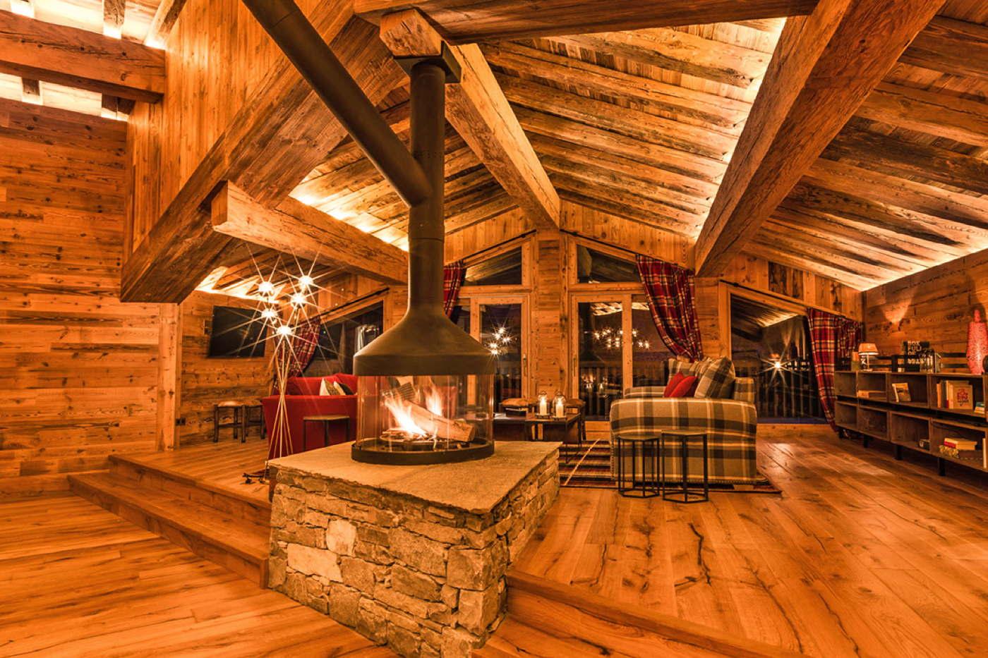 luxus skichalet val d 39 is re pool wellness koch. Black Bedroom Furniture Sets. Home Design Ideas