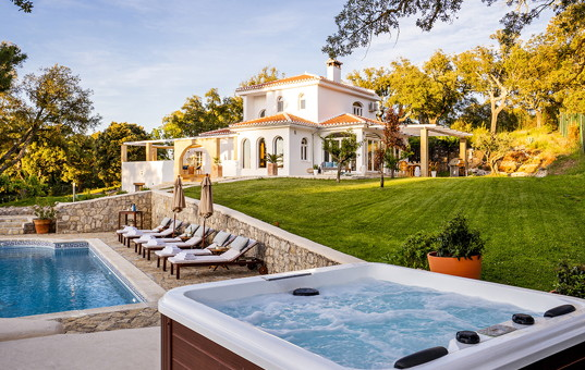 Spanien - ANDALUCIA - COSTA DEL SOL - Alhama de Granada - Villa Granada - vacation villa with pool and tennis court in the heart of Andalusia