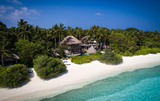 Indischer Ozean - MALDIVES - Baa Atoll, Kungfunadhoo Island - Soneva Fushi Villas - Maldives beachfront villa with private pool