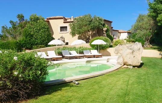 Italien - SARDINIA - Porto Cervo - Villa Pevero Vista - villa with pool in Pantogia hill