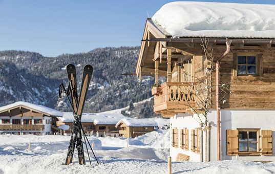 Deutschland - BAVARIA - Reit im Winkl - Chalets Chiemgau -