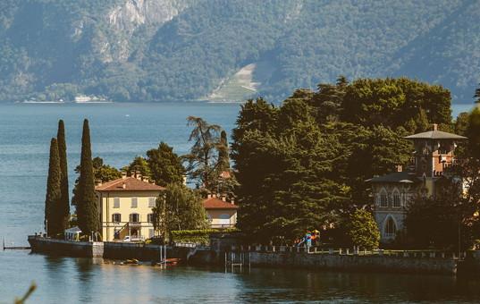 Italien - LAGO DI COMO - Limonta - Villa Aura Bellagio - Lakeside villa Lake Como