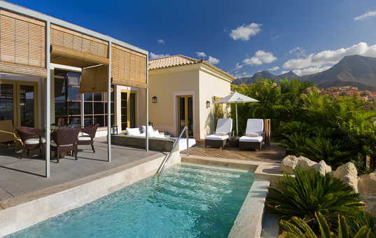 Spanien - CANARY ISLANDS - TENERIFE - Costa Adeje - Las Palmeras - vacation villa with infinity pool in Teneriffe