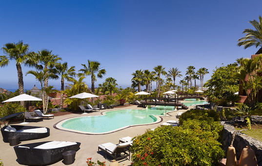 Spanien - CANARY ISLANDS - TENERIFE - Guia de Isora - The Ritz-Carlton Abama, Tagor Villas - private pool for villas in Tenerife