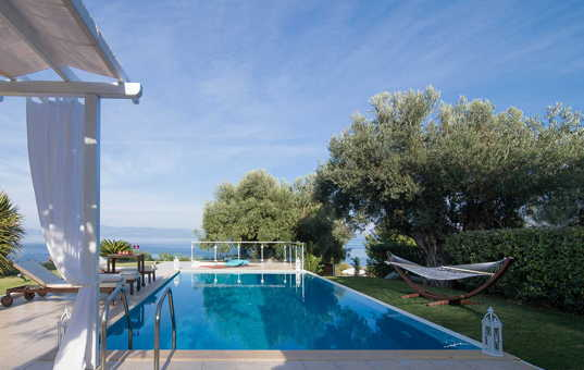Griechenland - HALKIDIKI - Kassandra - Villa Ermioni - by the pool