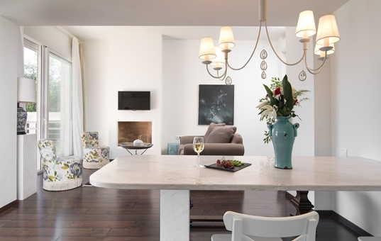 Griechenland - HALKIDIKI - Kassandra - Villa Ermioni - stylish interieur