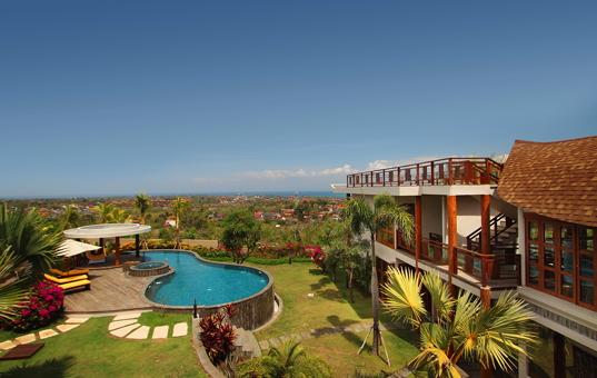Asien - BALI - Halbinsel Bukit / Jimbaran - Villa Jimbaran -