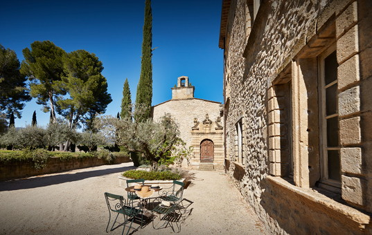 Frankreich - PROVENCE - Luberon National Park - Chateau des Anges - 17th century Provence chateau with wine production