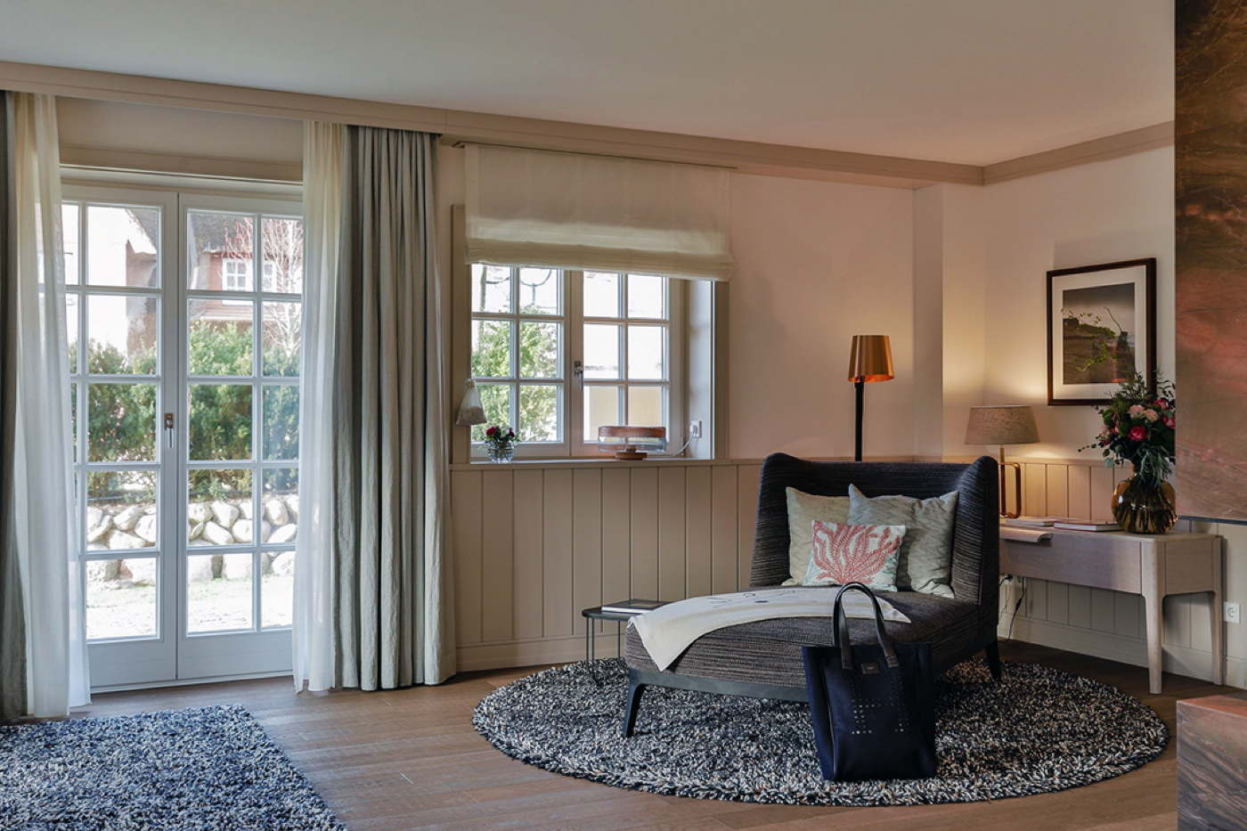 Holiday villa in 5 hotel resort Sylt with Spa & Pool at