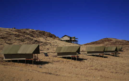 Afrika - NAMIBIA - Kanaan - Kanaan Desert Retreat - tented camp
