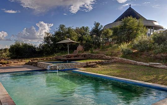 Afrika - NAMIBIA - Windhoek/Naankuse Wildlife Sanctuary - Naankuse Lodge -