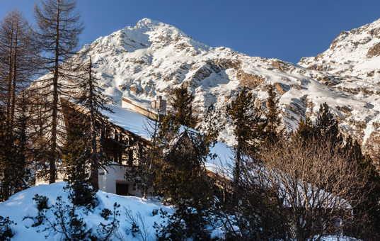 Schweiz - GRAUBUENDEN - Maloja / Engadin - Chalet Leopardo -