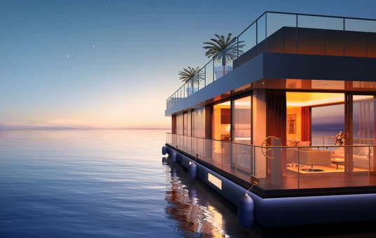 Frankreich - COTE D'AZUR - St. Raphael - Floating Penthouse -
