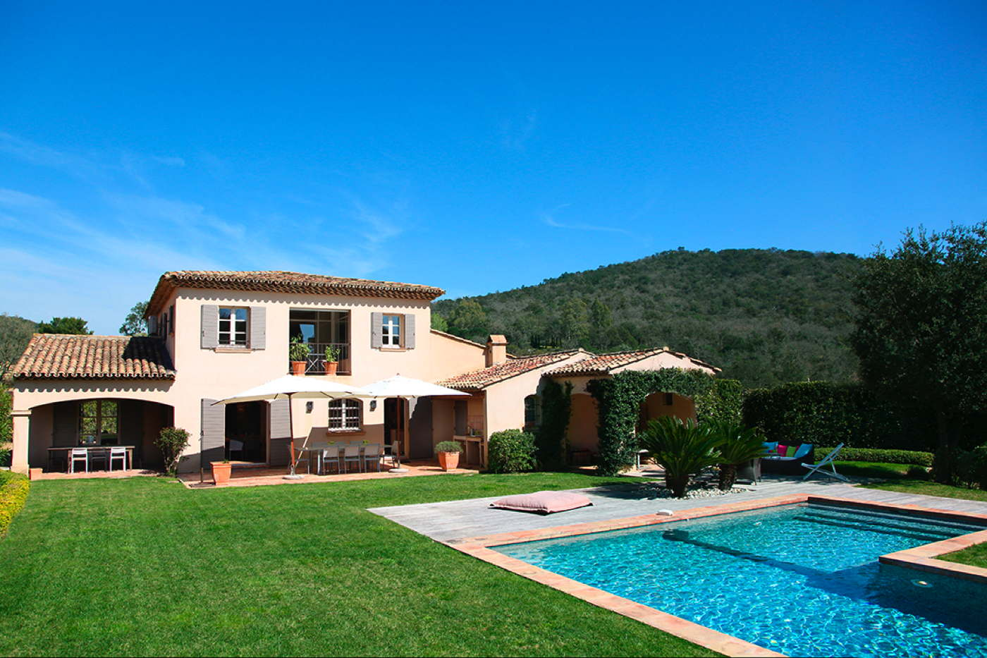 Country house with pool in France-Côte d\'Azur-Grimaud for holiday ...