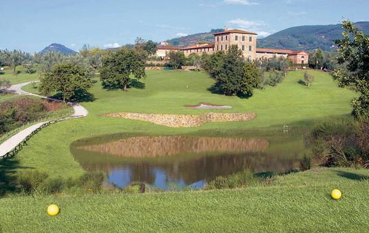 Italien - Toskana  - Monsummano Terme - Grotta Giusti Wellness Hotel & Spa - golfplatz grotta giusti toskana