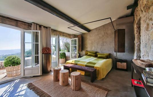 Frankreich - COTE D'AZUR - St. Paul de Vence - Villa Zen -