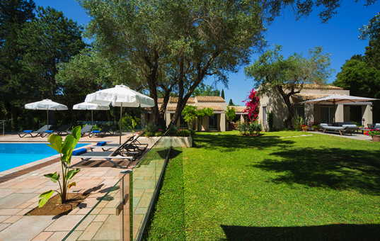 Griechenland - IONIAN ISLANDS - CORFU - Kyra Chrysiokou - Villa Skyline - luxury holiday villa with pool