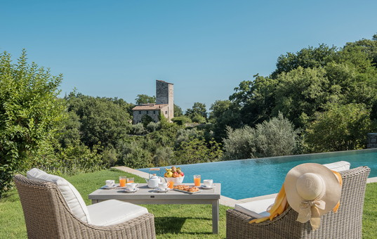 Italien - UMBRIA - San Savino di Murlo - Castiglione Ugolino - event villa in umbria with pool and connected church