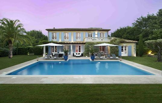 Frankreich - COTE D'AZUR - St. Tropez - Villa Rossignol -