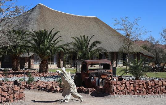 Afrika - NAMIBIA - Sossusvlei - Elegant Desert Lodge -