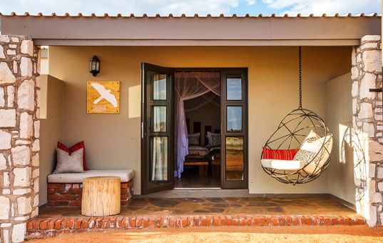 Afrika - NAMIBIA - Mariental - Kalahari Anib Lodge -