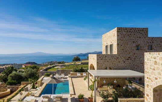 Griechenland - PELOPONNESE - Neochori / Mani - Villa Amani -