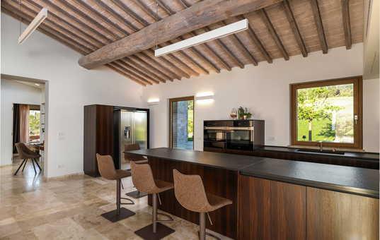 Italien - TUSCANY - Ulignano / Volterra - Villa La Finesterra - modern interior