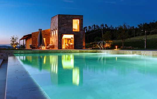 Italien - TUSCANY - Ulignano / Volterra - Villa La Finesterra - Designvilla in tuscany