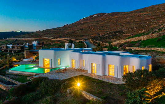 Griechenland - CYCLADES - MYKONOS - Lia / Ano Mera - Villa Gaia -