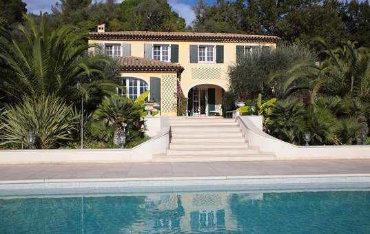 Frankreich - Côte d'Azur  - Mougins - Villa Almarin -