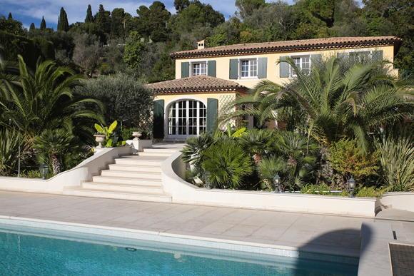 holiday villa Cote d'Azur self France Côte d'Azur Nice Mougins Villa Almarin