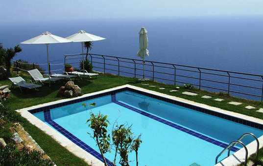 Griechenland - CRETE - Rodakino - Spiti Gavdos West - Pool with sea view