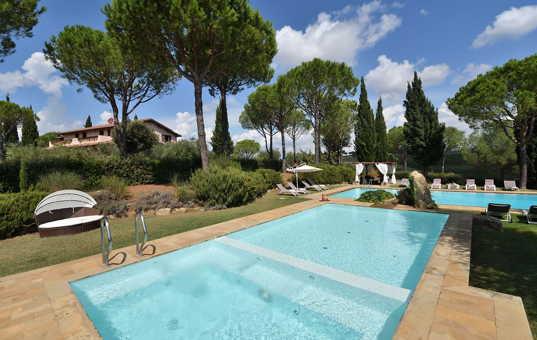 Italien - Toskana  - Montiano - Villa Val delle Vigne -