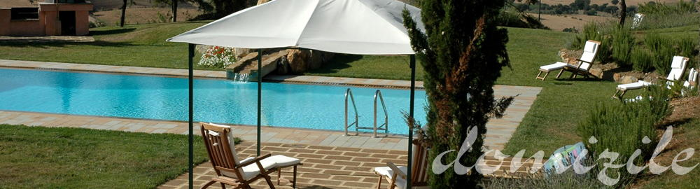 luxury holiday villa with pool in Maremma