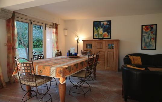 Frankreich - COTE D'AZUR - Biot - Villa Las Brisas - Cozy dining room