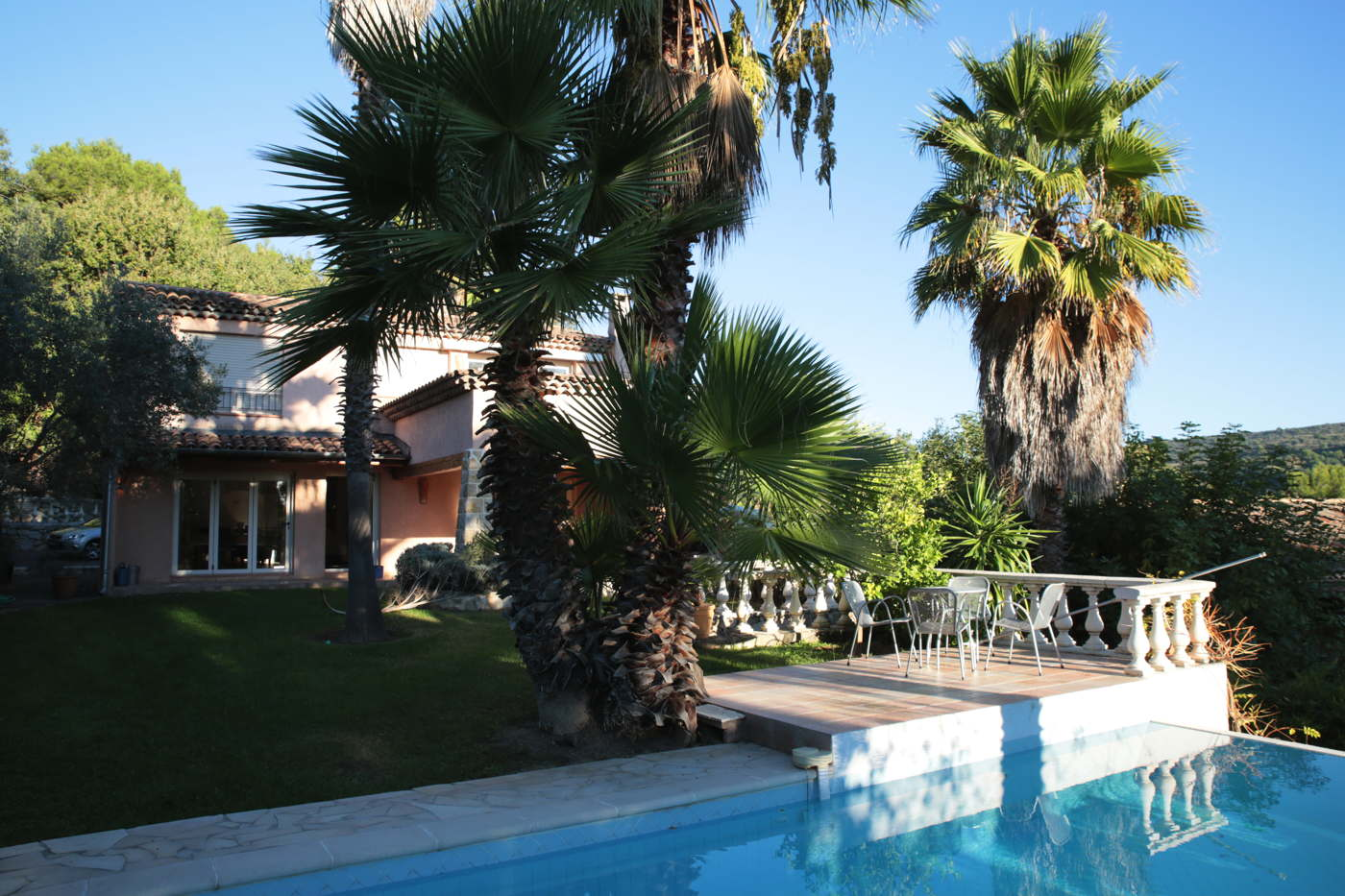 holiday villa with pool Cote d'Azur